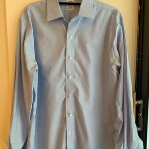 Light Blue 16 1/2 - 36 Brooks Brothers Button Down